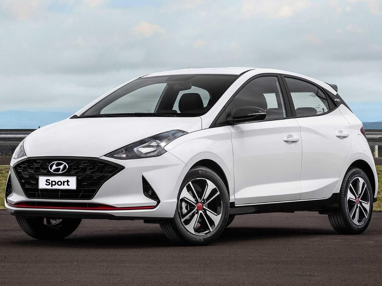 HyundaiHB20 2020 - ângulo frontal