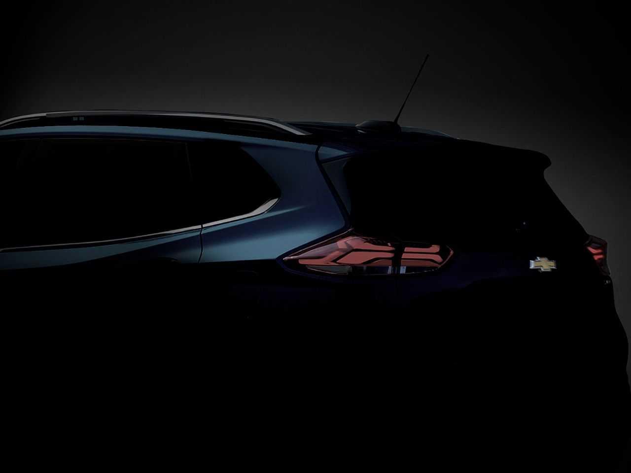 Detalhe da lanterna do novo Tracker com iluminação por LED