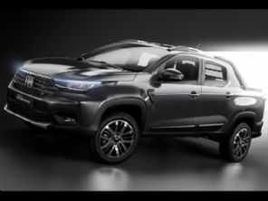 Oficial: Fiat revela a primeira foto da nova Strada 2021