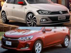 VW Polo Highline ou um Chevrolet Onix Premier?