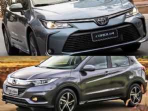 Optar por um Toyota Corolla XEi ou um Honda HR-V EXL?