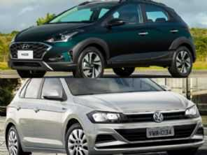 Hatches 1.6 com câmbio manual: VW Polo ou Hyundai HB20X Vision?