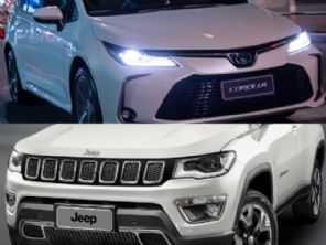 Compra com isenção de IPI: Corolla Altis Premium ou um Compass Longitude diesel?