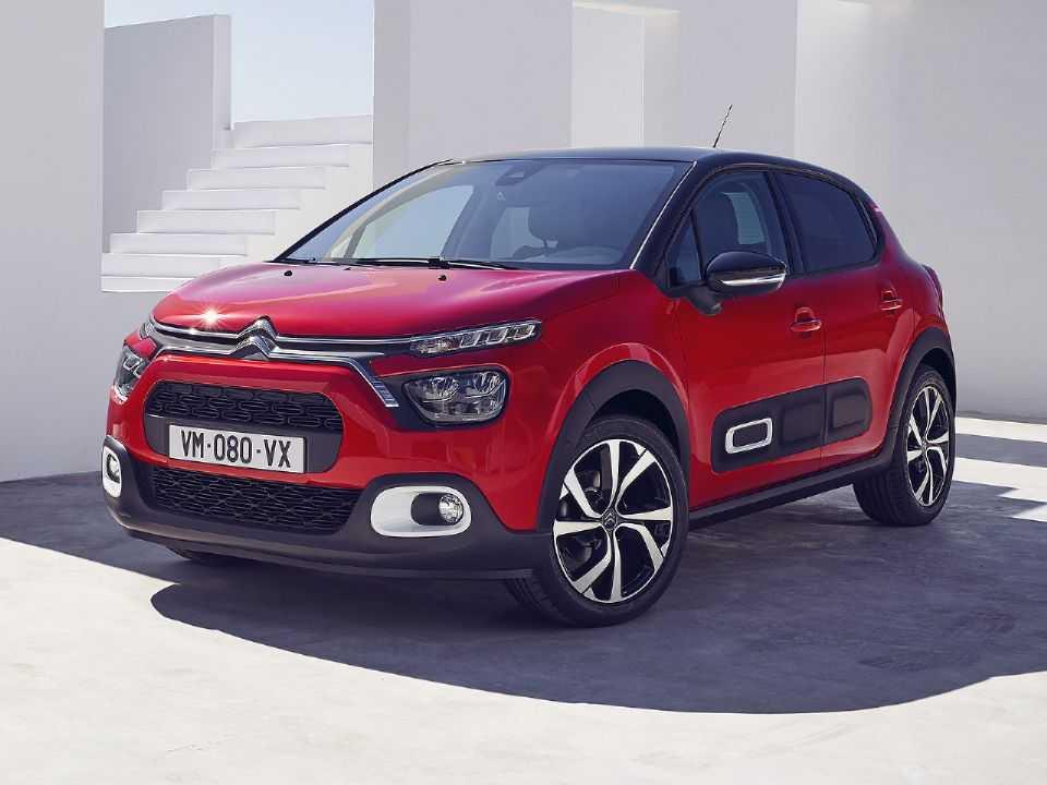 Acima o novo Citroën C3 para o mercado europeu