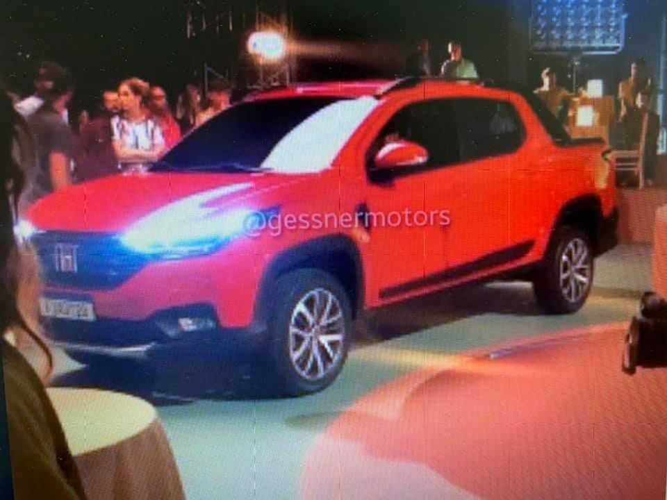 Imagem ainda não oficial da nova Fiat Strada