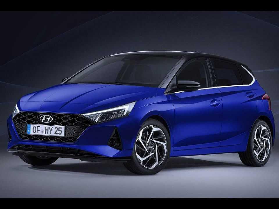 Imagem que começou a circular pela internet antecipando a nova geração do Hyundai i20