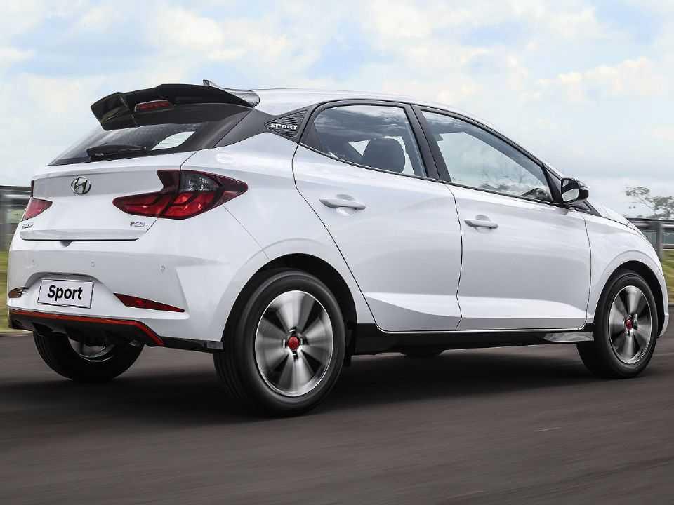 HyundaiHB20 2020 - lateral