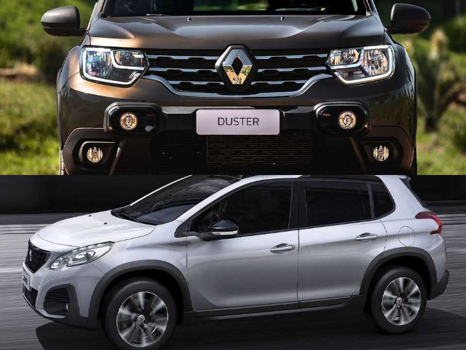 Renault Duster e Peugeot 2008