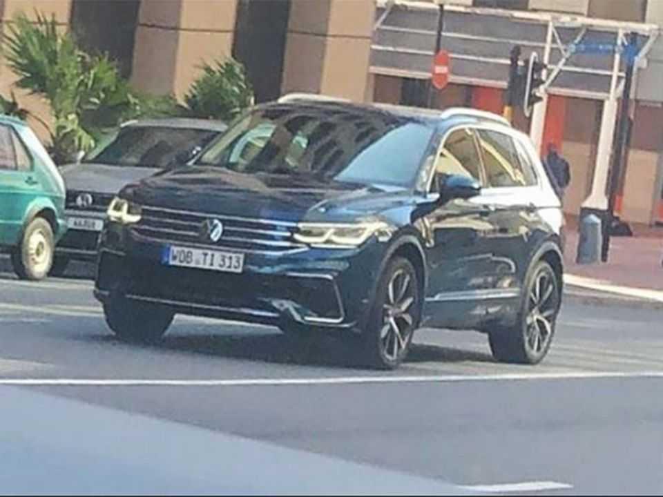 Facelift do VW Tiguan estreia em breve na Europa