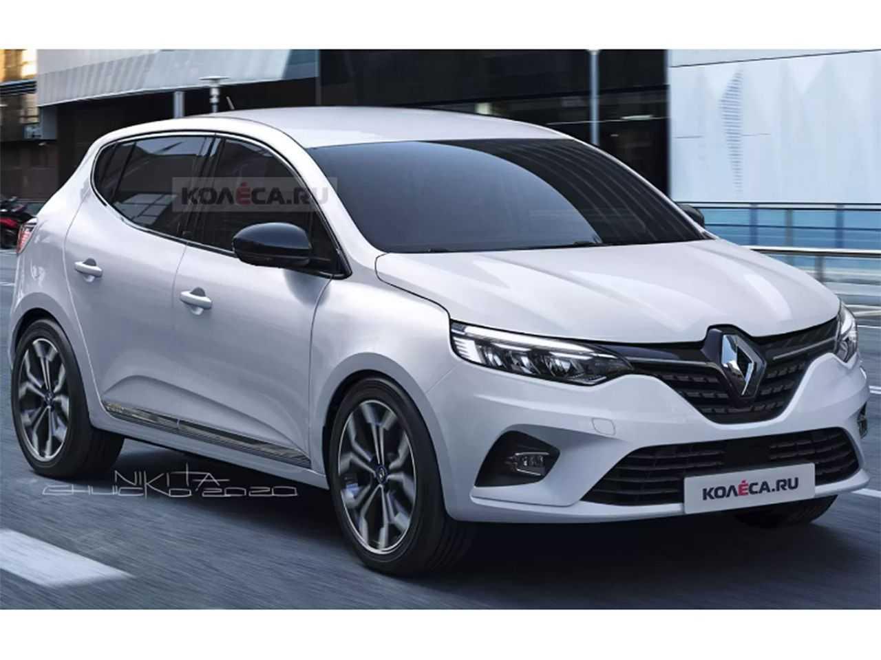 Projeção de Nikita Chuyko para a próxima geração do Renault Sandero