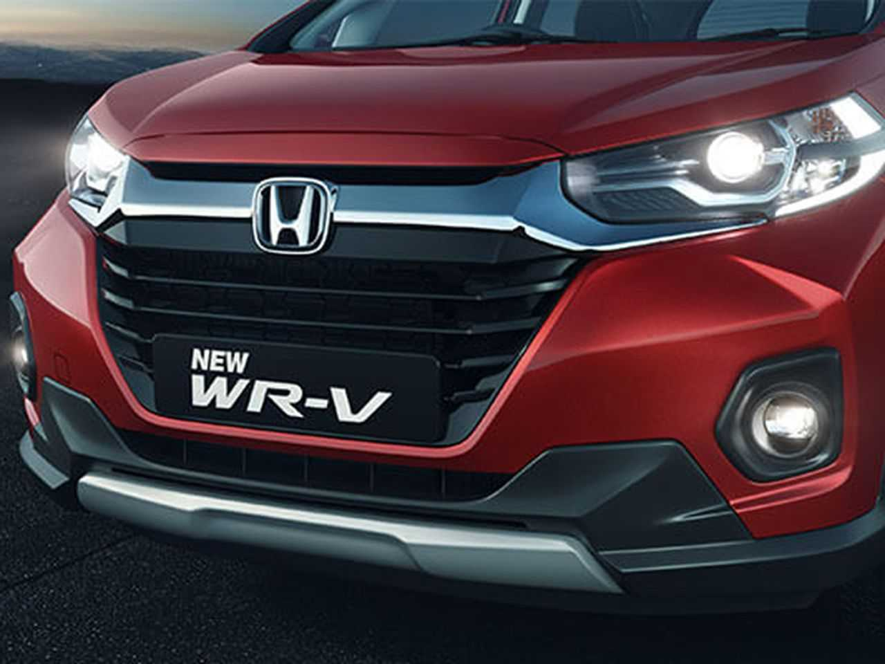 Facelift do Honda WR-V para o mercado indiano