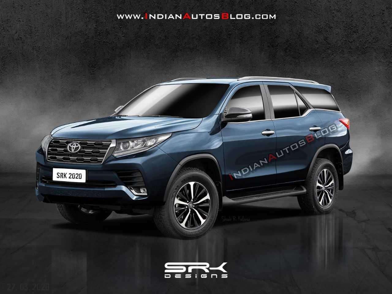 Projeção da SRK Designs para a próxima geração do Toyota SW4
