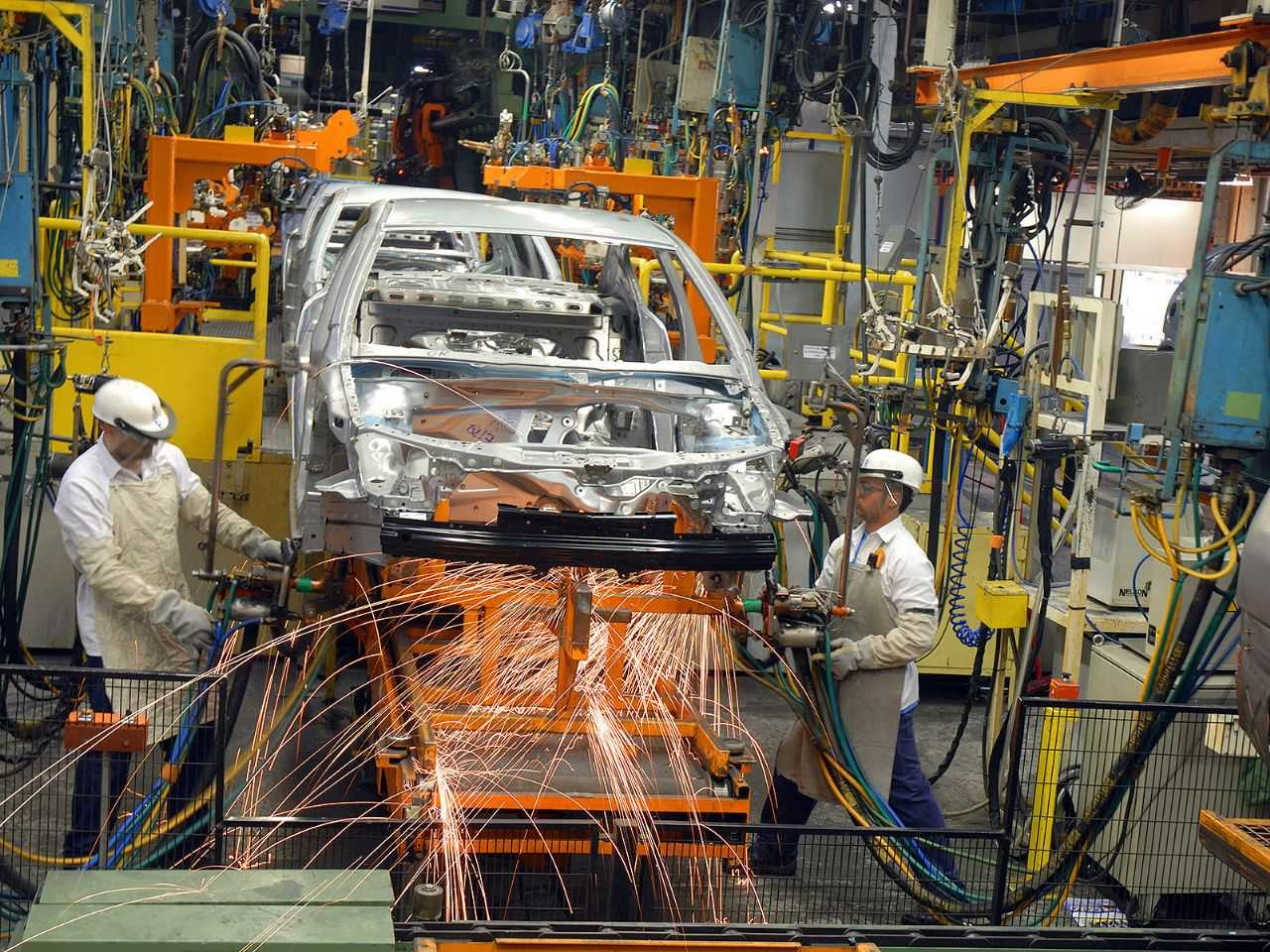 Fábrica da Chevrolet em São Caetano do Sul (SP)