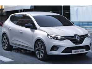 Projeções antecipam a nova geração do Renault Sandero