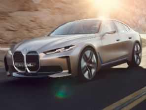Conceito BMW i4 tem novo logo e efeitos sonoros de Hans Zimmer