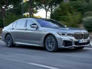 Versão mais forte do próximo BMW Série 7 será elétrica