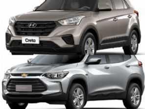 Compra PcD: Chevrolet Tracker ou um Hyundai Creta?