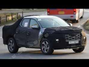 Picape da Hyundai rival para a Fiat Toro é flagrada em estágio avançado de testes