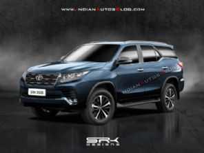 Veja como pode ficar o novo Toyota SW4 2021