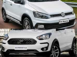 Volkswagen Fox Xtreme ou um Ford Ka FreeStyle?