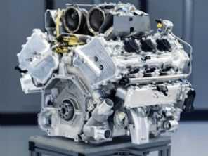 Aston Martin detalha seu primeiro novo motor desde 1968