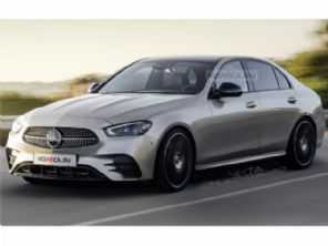 Esperado para este ano, projeções antecipam a nova geração do Mercedes-Benz Classe C