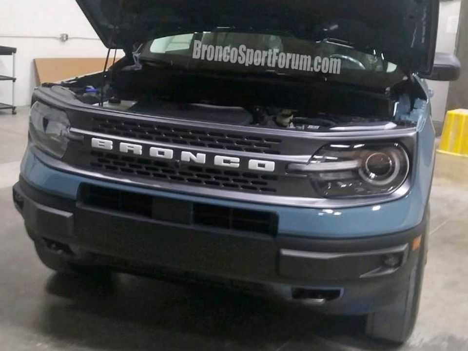 Imagens vazadas do novo Ford Bronco Sport