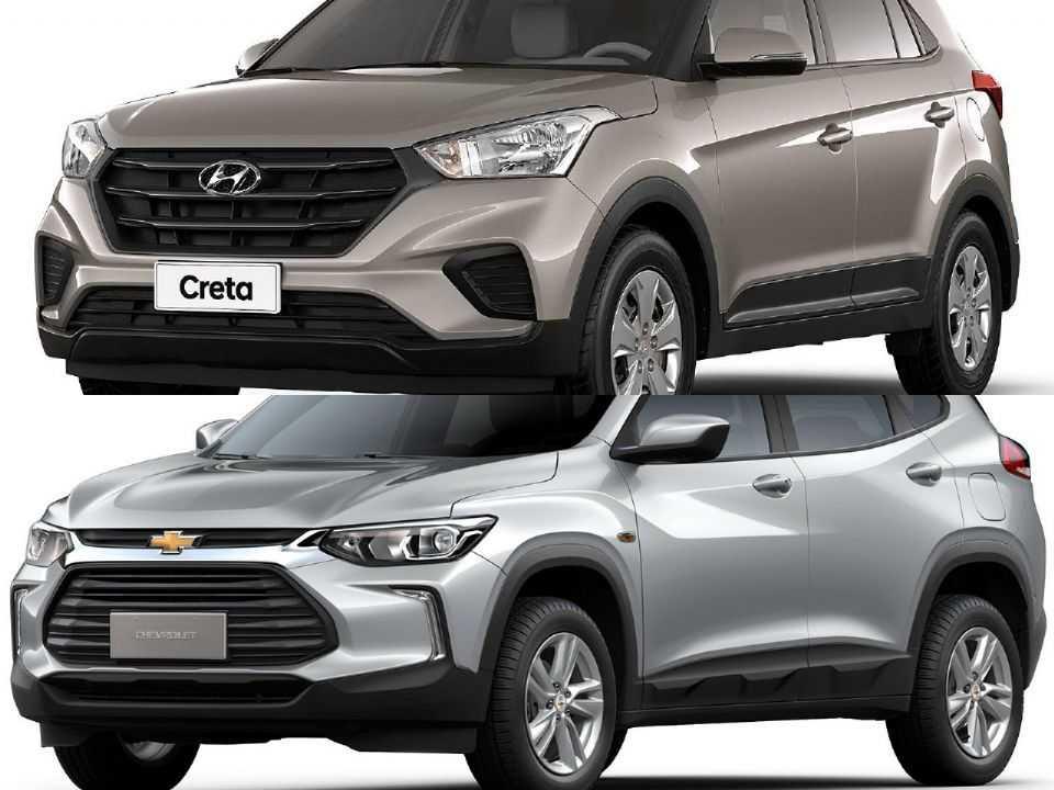 Hyundai Creta e Chevrolet Tracker