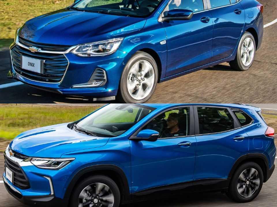 Chevrolet Onix Plus e Chevrolet Tracker