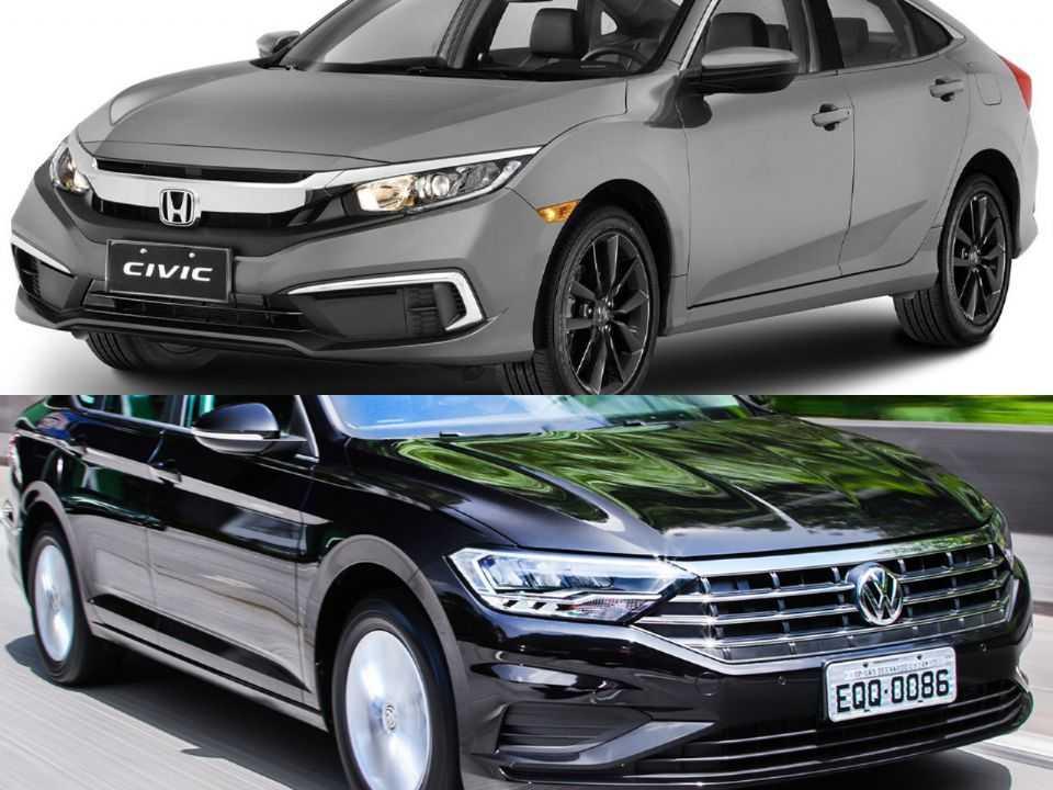 Honda Civic e Volkswagen Jetta