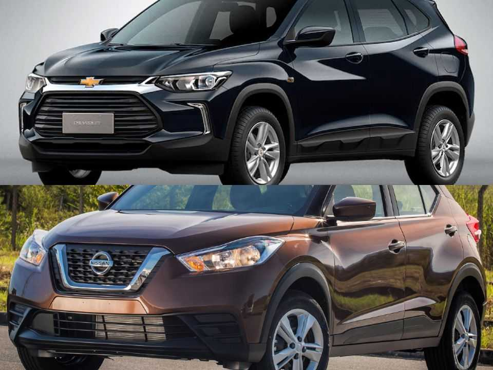 Chevrolet Tracker e Nissan Kicks