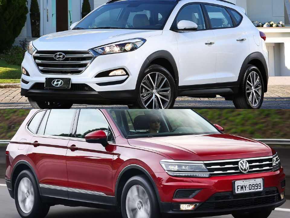 Hyundai New Tucson e Volkswagen Tiguan Allspace