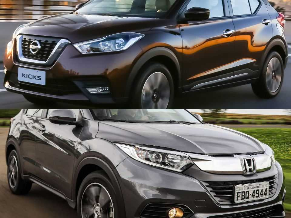 Honda HR-V e Nissan Kicks