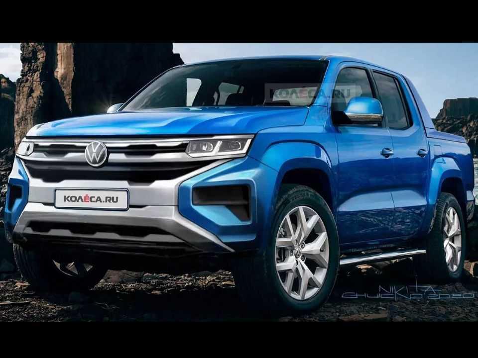 Projeção de Nikita Chuyko sobre a próxima geração da VW Amarok