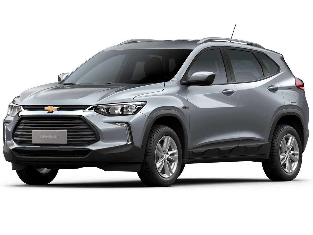 Acima o Chevrolet Tracker 2021 em seu catálogo atualmente oferecido para o público PcD