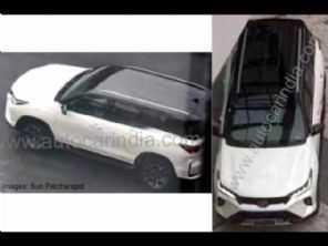 Toyota SW4 2021 é flagrado sem camuflagens; facelift deve chegar à Hilux
