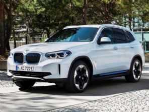 BMW X3 elétrico tem imagens vazadas