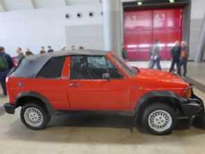 História: você sabia que já existiu um jipe conversível baseado no VW Golf?