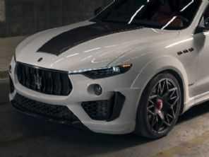 Novitec prepara Maserati Levante radical