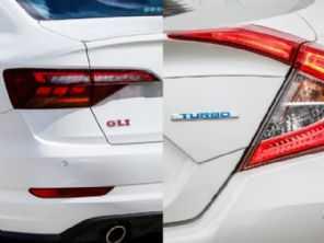 Honda Civic Touring e VW Jetta GLI: em termos de esportividade, os modelos são rivais diretos?