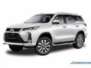Novo Toyota SW4 2021 será apresentado em junho