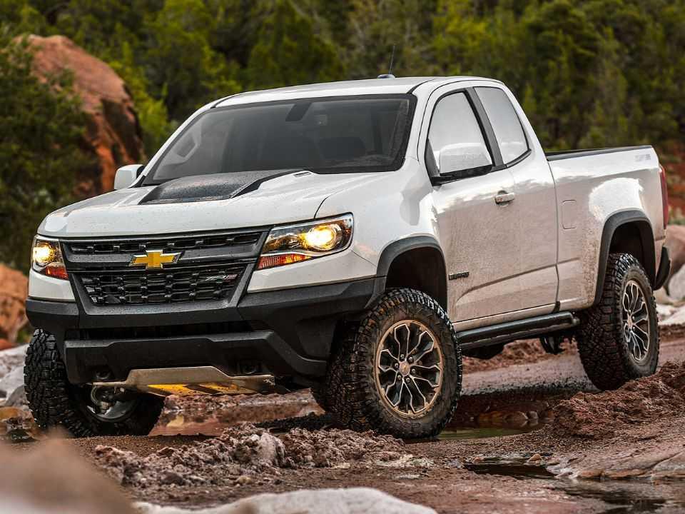 Acima a Chevrolet Colorado ZR2 2020 vendida nos EUA