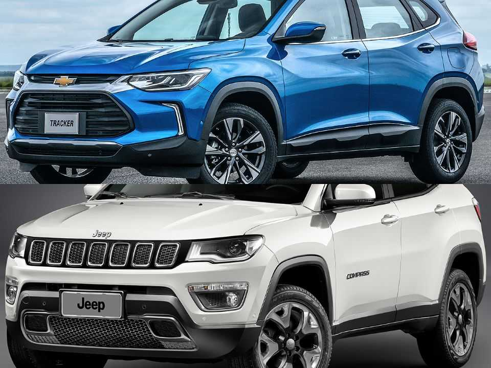 Chevrolet Tracker e Jeep Compass