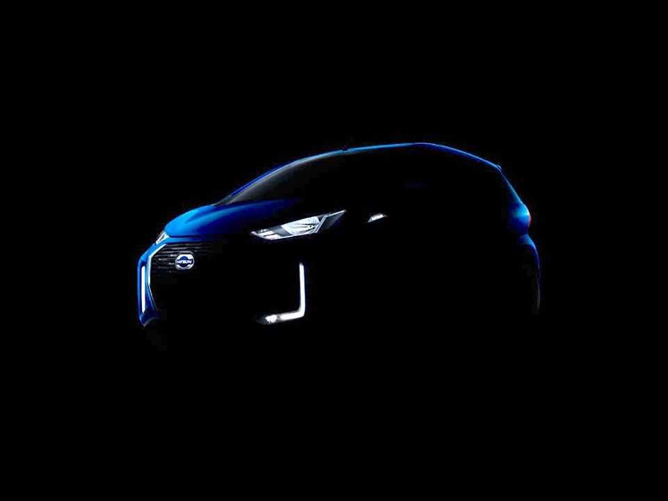 Teaser para a atualização do Datsun redi-GO