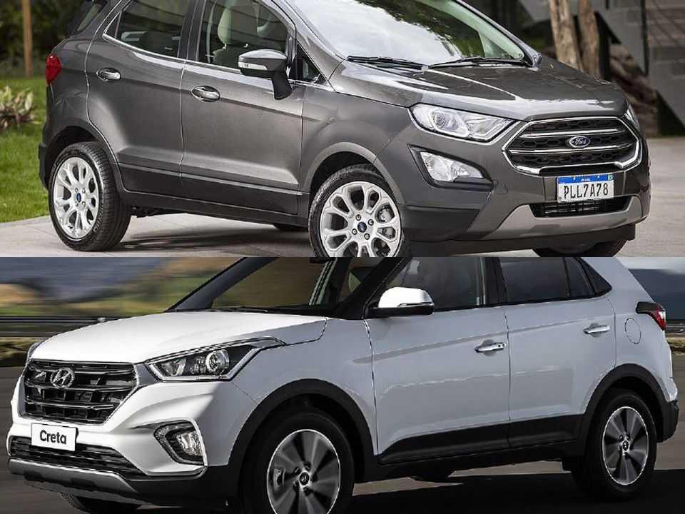 Ford EcoSport e Hyundai Creta