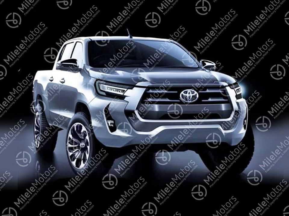 Como deve ficar a nova Toyota Hilux 2021: frente com mudanças profundas