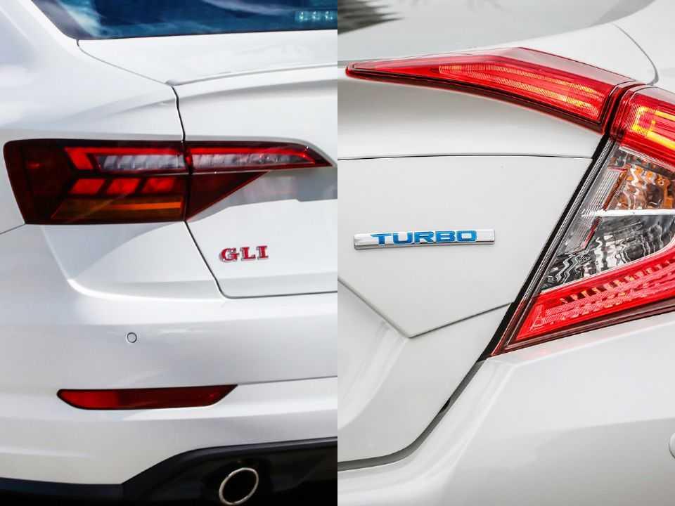 Volkswagen Jetta e Honda Civic