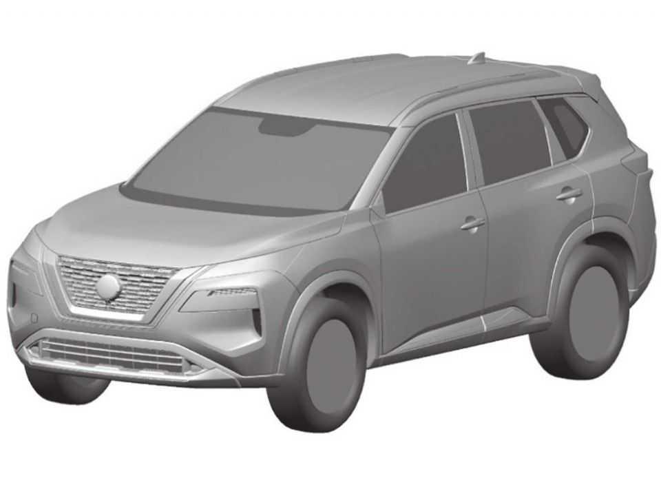 Registro da Nissan no INPI antecipando o sucessor do X-Trail