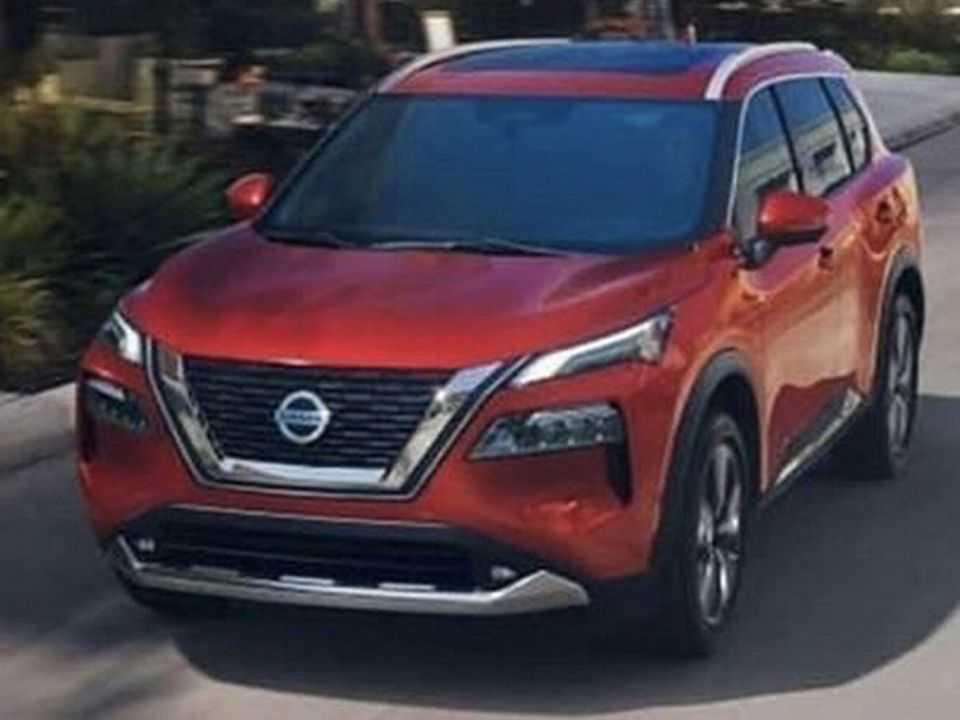 Imagem vazada do Nissan X-Trail 2021