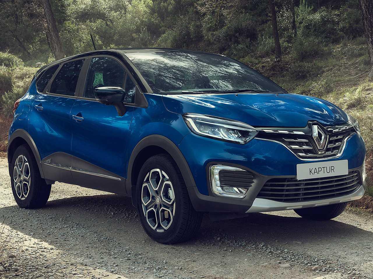 Renault Kaptur russo com o facelift que também será aplicado ao SUV no Brasil
